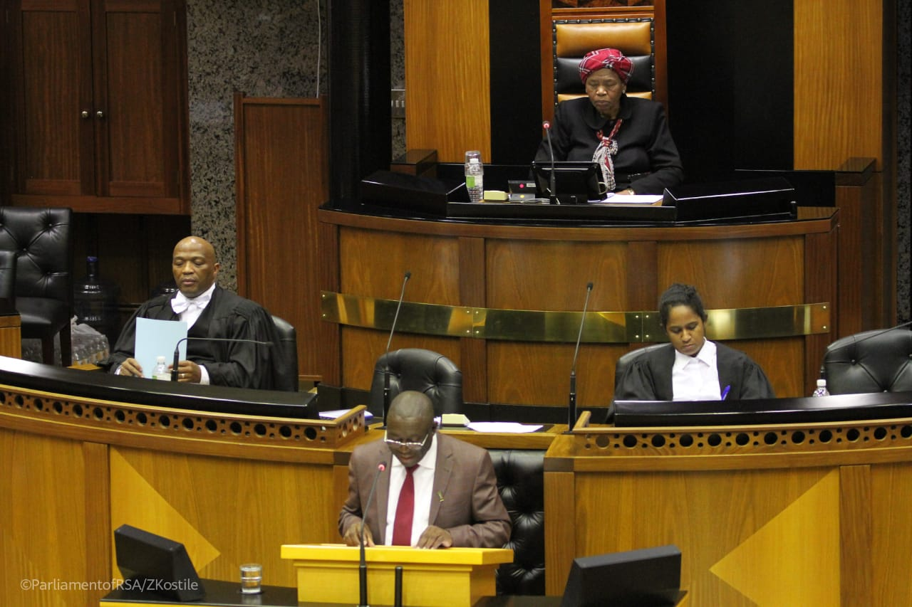 Budget Vote Speech to the National Assembly by Deputy Minister of Tourism Hon Fish Mahlalela