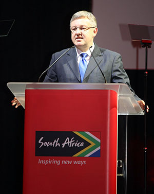 National Tourism Minister, Mr Marthinus van Schalkwyk