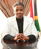 Deputy Director General: Ms Morongoe Ramphele