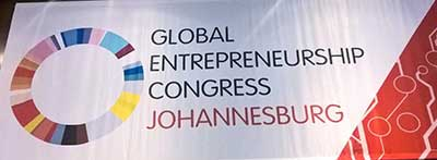 Tokozile Xasa, at occasion of the welcome reception of the Global Entrepreneurship Congress