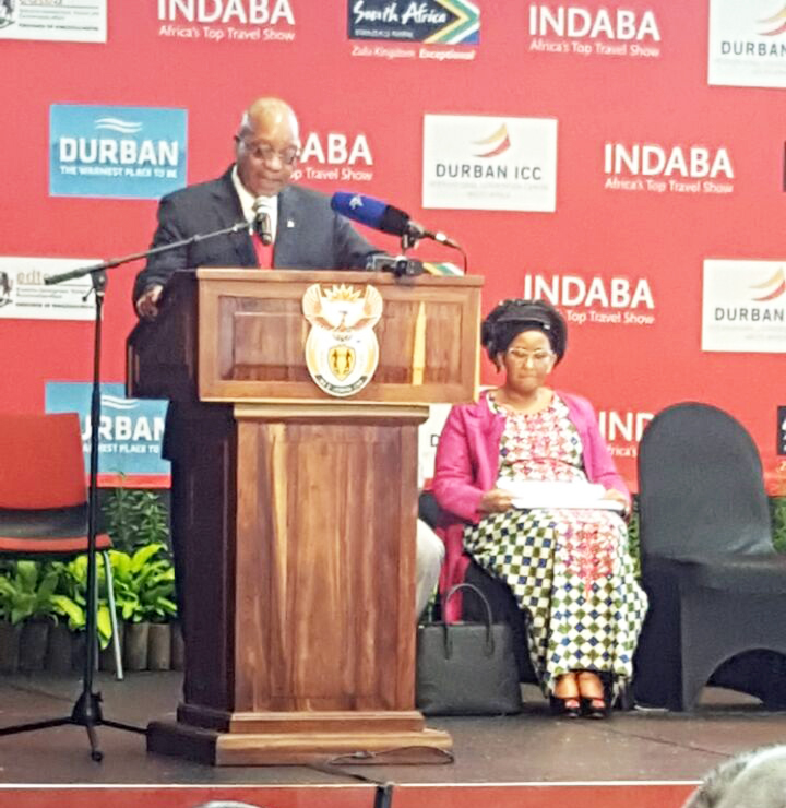 Africa's Travel Indaba 2017 Opening Address by President Zuma