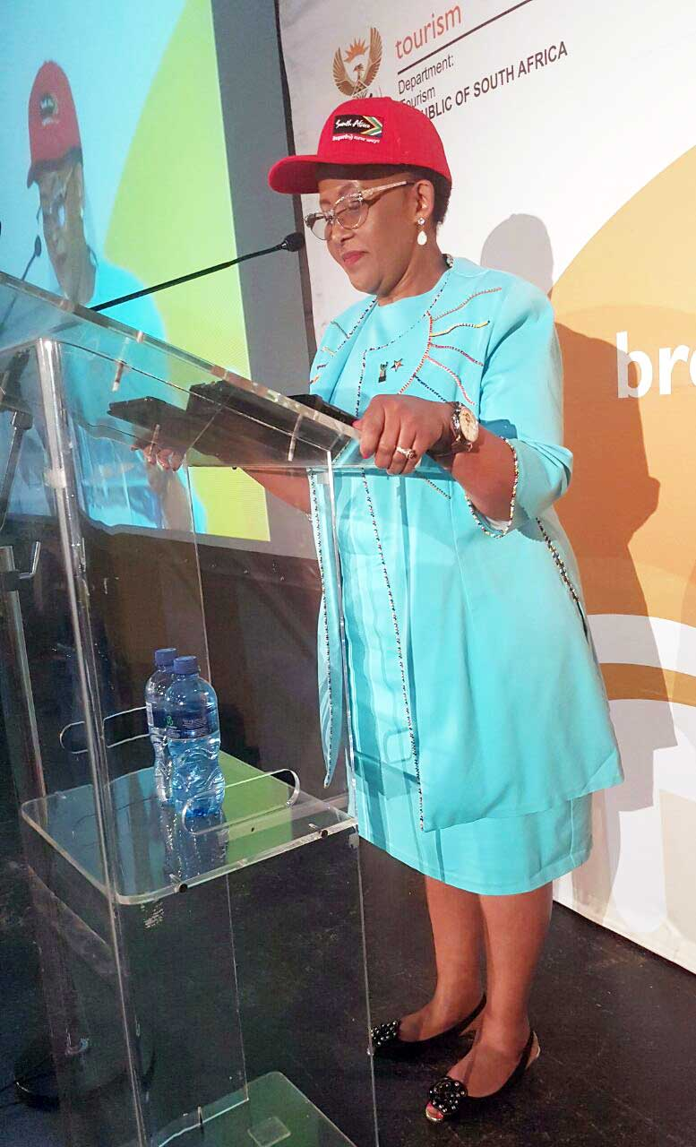 Minister Tokozile Xasa launches the National Tourism Monitors Programme in Gauteng