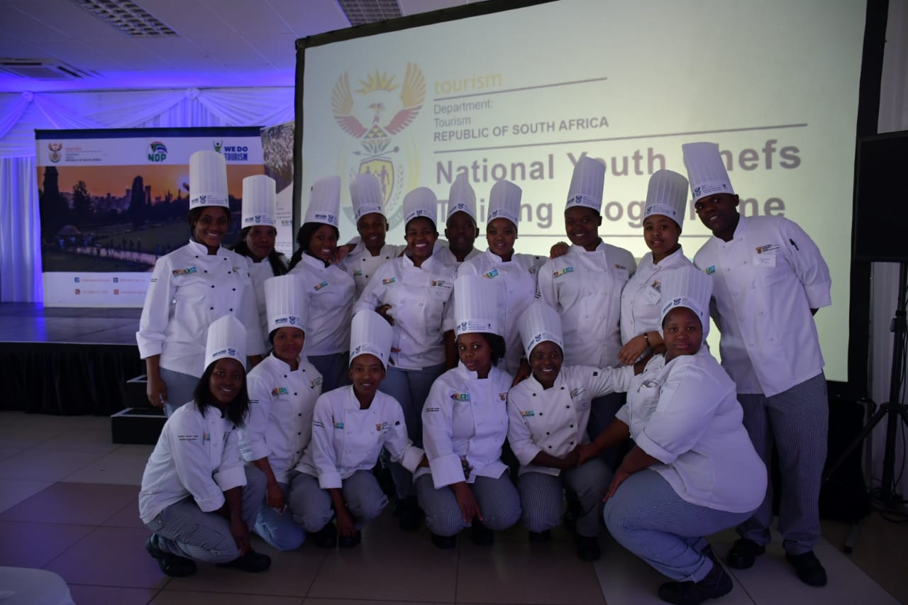 Hospitality sector to get a skills boost as hundreds of youth graduate from the National Youth Chefs Training Programme