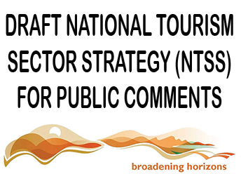 Draft National Tourism Sector Strategy (NTSS) for public comments