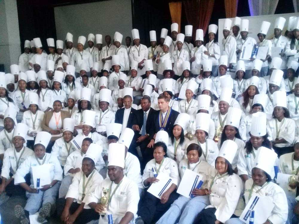 National Youth Chef Training Graduation Ceremony
