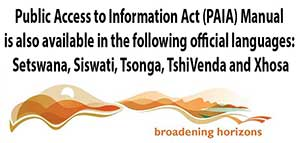 Public Access to Information Act (PAIA)
