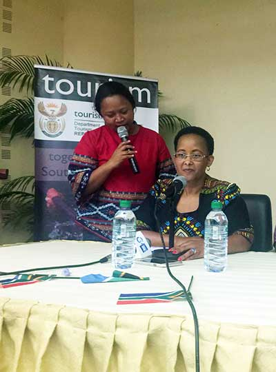 Speech by the Deputy Minister of Tourism, Tokozile Xasa on the occasion of her visit to Gabon for the SA / Gabon Cultural Season
