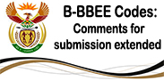 B-BBEE Codes: Comments for submission extended